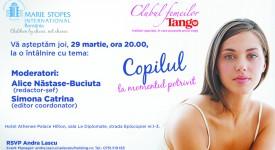 Invitatie Club Tango & Marie Stopes
